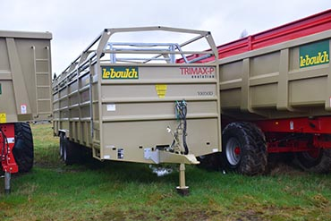 Leboulch Livestock trailers Trimax 10,1M