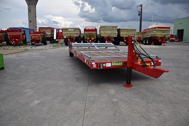 Leboulch Bale trailers Low loader 6,0M