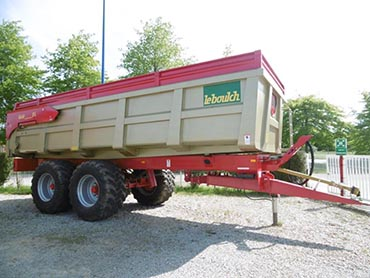 Leboulch GOLD XL 72D24 monocoque tipping trailers