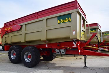 Leboulch GOLD XL 57D22 monocoque tipping trailers