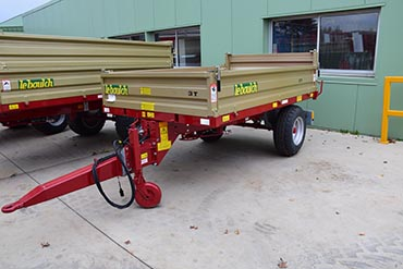 Leboulch EV2 29S04 compact tipping trailer
