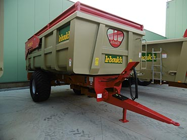 Leboulch GOLD XL 46S14 monocoque tipping trailers