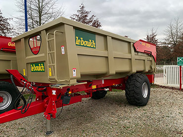 Leboulch GOLD XL 52S16 monocoque tipping trailers