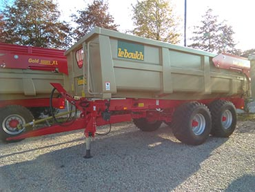Leboulch GOLD XL 57D20 monocoque tipping trailers