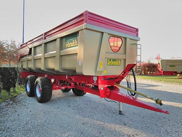 Leboulch GOLD XL 66D23 monocoque tipping trailers