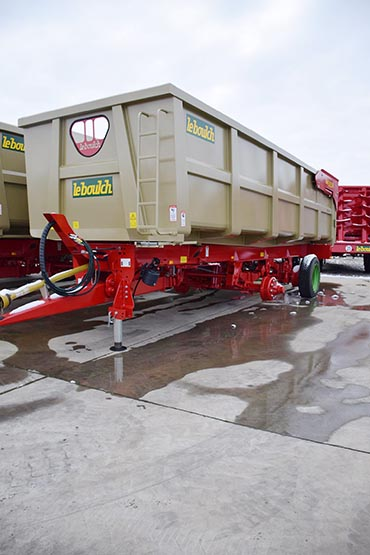 Leboulch GOLD XXL 78D29 monocoque tipping trailers
