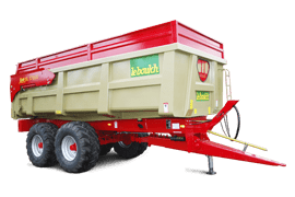 Agricultural tipping trailers