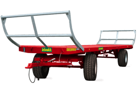 Our range of trailed and semi-mounted bale trailers